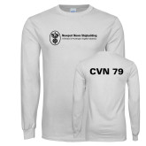 White Long Sleeve T Shirt-CVN 79