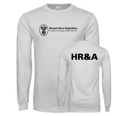 White Long Sleeve T Shirt-HR and A