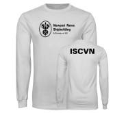 White Long Sleeve T Shirt-ISCVN