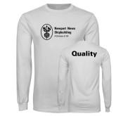 White Long Sleeve T Shirt-Quality