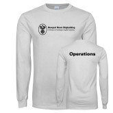 White Long Sleeve T Shirt-Operations