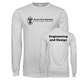 White Long Sleeve T Shirt-Engineering and Design