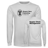 White Long Sleeve T Shirt-Strategic Sourcing