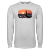 White Long Sleeve T Shirt-NNS Design 4