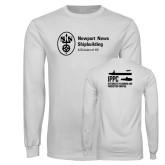 White Long Sleeve T Shirt-IPPC