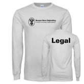 White Long Sleeve T Shirt-Legal