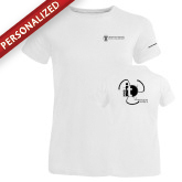 Ladies Russell White Essential T Shirt-NNS IT