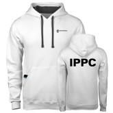 Contemporary Sofspun White Hoodie-IPPC