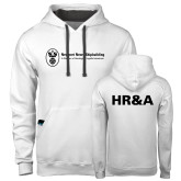 Contemporary Sofspun White Hoodie-HR and A
