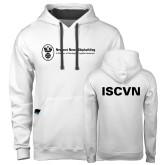 Contemporary Sofspun White Hoodie-ISCVN