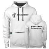 Contemporary Sofspun White Hoodie-Strategic Sourcing