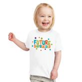 Toddler White T Shirt-Future Shipbuilder