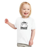 Toddler White T Shirt-Future Shipbuilder Submarine