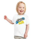 Toddler White T Shirt-Future Shipbuilder Carrier Ship