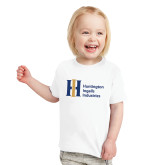 Toddler White T Shirt-Huntington Ingalls Industries