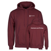 Maroon Fleece Hoodie-Contracts and Pricing