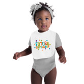 White Baby Bib-Future Shipbuilder