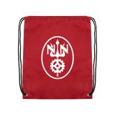Cardinal Drawstring Backpack-Icon