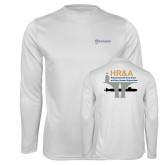 Performance White Longsleeve Shirt-HR & A