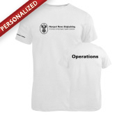 Russell White Essential T Shirt-Operations