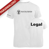 Russell White Essential T Shirt-Legal