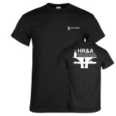 Black T Shirt-HR and A