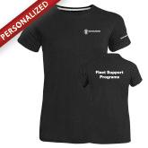 Ladies Russell Black Essential T Shirt-Fleet Support Programs