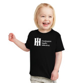 Toddler Black T Shirt-Huntington Ingalls Industries