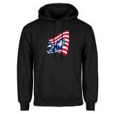 Black Fleece Hoodie-NNS Flag