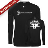 Under Armour Black Long Sleeve Tech Tee-HR and A
