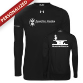 Under Armour Black Long Sleeve Tech Tee-Programs Division