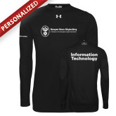 Under Armour Black Long Sleeve Tech Tee-Information Technology