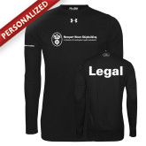 Under Armour Black Long Sleeve Tech Tee-Legal