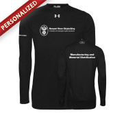 Under Armour Black Long Sleeve Tech Tee-Manufacturing and Material Distribution
