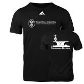 Adidas Black Logo T Shirt-Programs Division