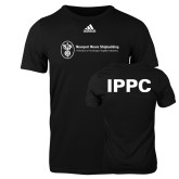 Adidas Black Logo T Shirt-IPPC