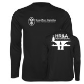 Performance Black Longsleeve Shirt-HR and A