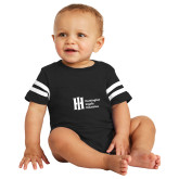 Black Jersey Onesie-Huntington Ingalls Industries