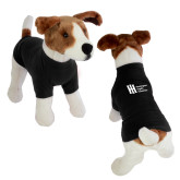 Classic Black Dog T Shirt-Huntington Ingalls Industries
