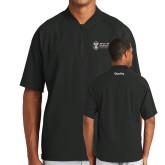 New Era Black Cage Short Sleeve 1/4 Zip-Quality
