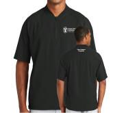 New Era Black Cage Short Sleeve 1/4 Zip-Fleet Support Programs
