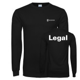Black Long Sleeve T Shirt-Legal