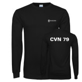 Black Long Sleeve T Shirt-CVN 79
