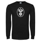 Black Long Sleeve T Shirt-Icon