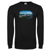 Black Long Sleeve T Shirt-NNS Design 3