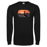 Black Long Sleeve T Shirt-NNS Design 4