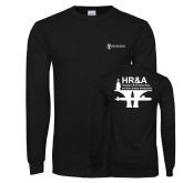 Black Long Sleeve T Shirt-HR and A