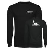 Black Long Sleeve T Shirt-Programs Division