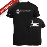 Russell Black Essential T Shirt-Programs Division