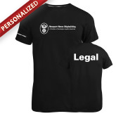 Russell Black Essential T Shirt-Legal